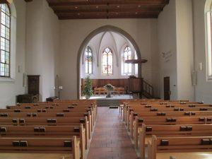 Oberdiessbach Kirche innen