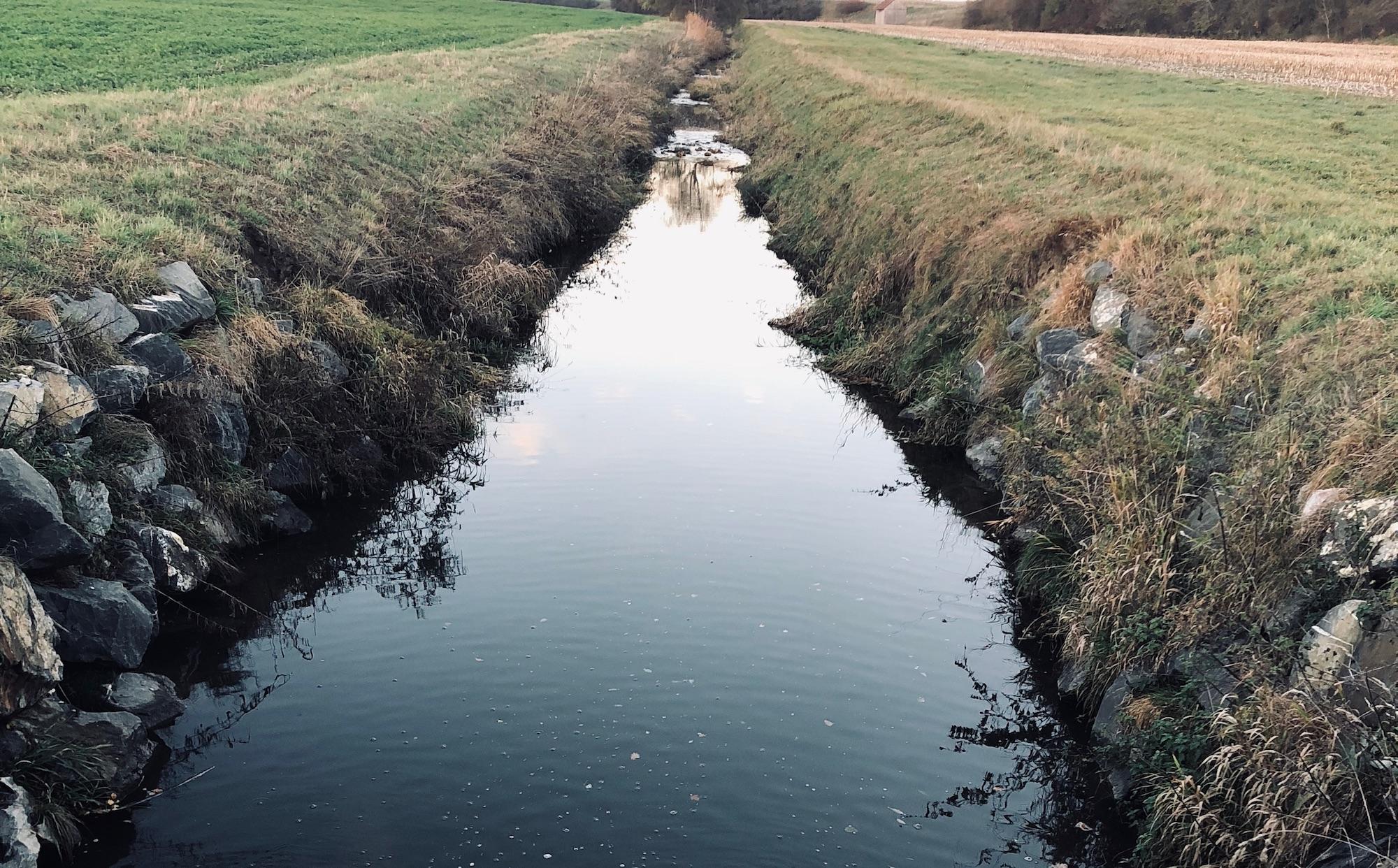 Bachlauf Wasser Lauf des Lebens