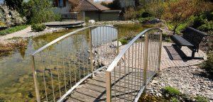 Uetendorf Brücke Wasserlauf